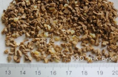 Крошка резиновая 3 мм (цвет - бежевый)